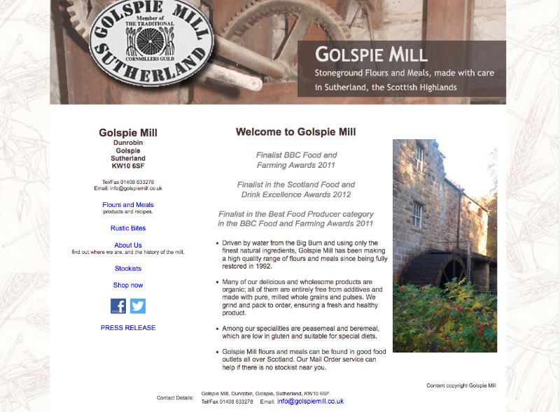 Golspie-Mill