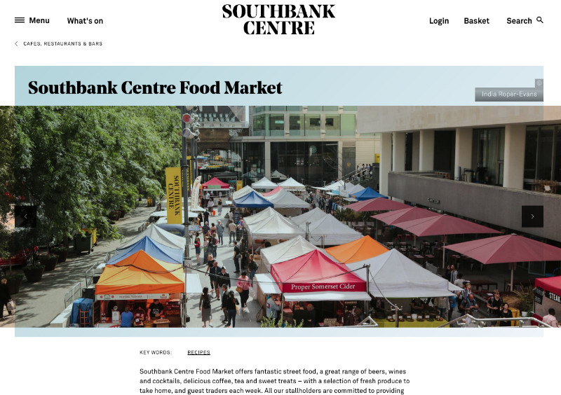 Southbank-Cntre-Food-Market