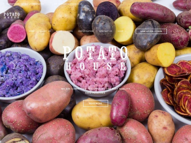 Potato-House
