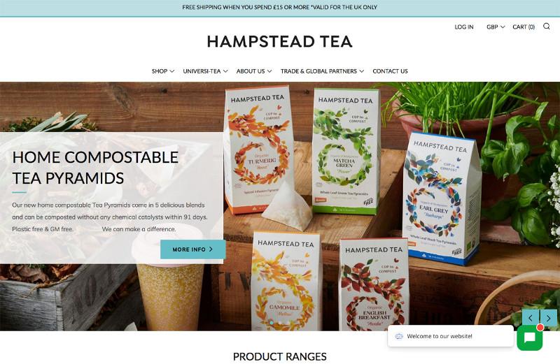 Hampstead-Tea