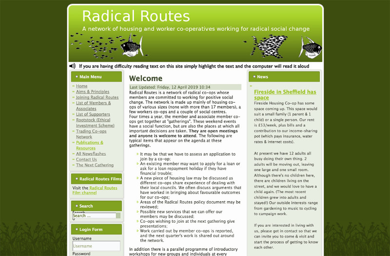 Radical-Routes